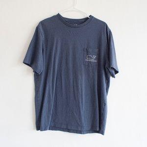 Navy Blue Vineyard Vines T-Shirt Medium Men's